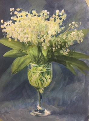 Marina Baranovskaya Anatolyevna. Lilies of the valley