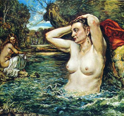 Giorgio de Chirico. Bathers