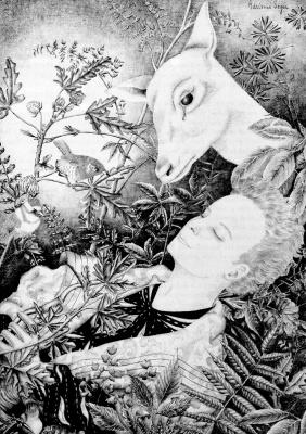 Адриенн Сегур. Белый олень
