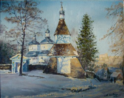 Анатолий Иванович Шевчик. Николаевская церковь