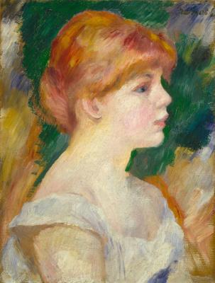 Pierre-Auguste Renoir. Suzanne Valadon