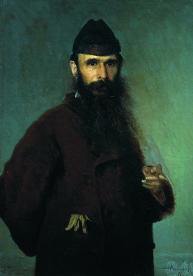 Ivan Nikolayevich Kramskoy. Portrait of the artist Alexander Dmitrievich Litovchenko