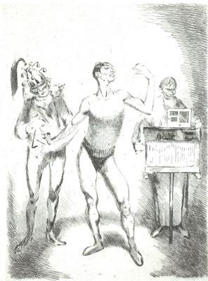 Василий Николаевич Масютин. Acrobat