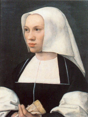 Бернард ван Орлей. Портрет монахини