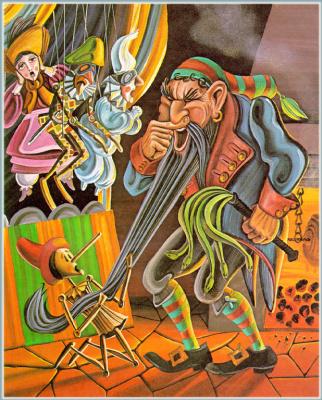Джеральд Макдермотт. Пиноккио 5