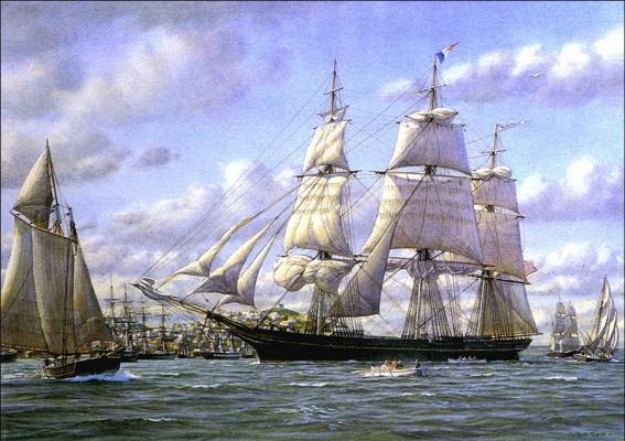 Марк Майерс. Парусное судно 21