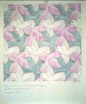 Мауриц Корнелис Эшер. Птицы6