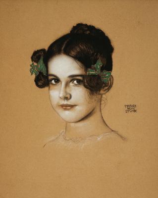 Franz von Stuck. Portrait Of Marie Pieces