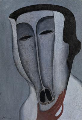 Michael Shemyakin. Abstract face.1976