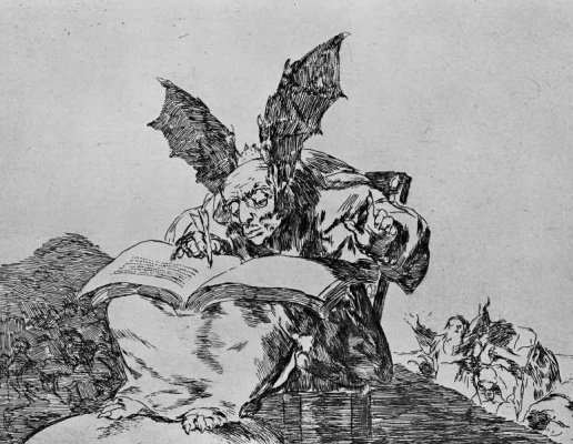 "Francisco Goya. The series ""disasters of war"", page 71: Against the common good"