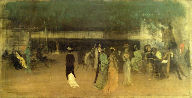 James Abbot McNeill Whistler. Gardens Of Cremona, No. 2
