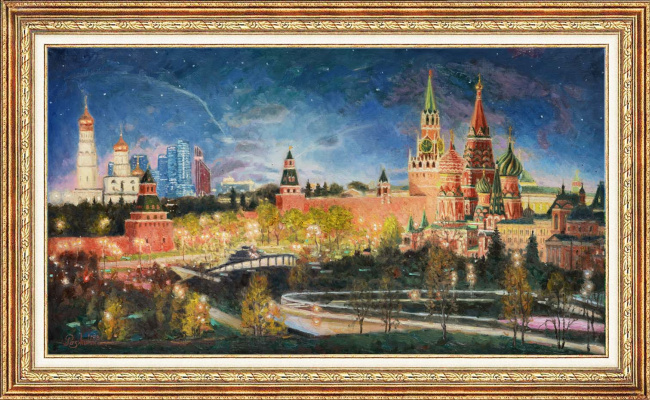 Igor Razzhivin. The silence of the night the Kremlin