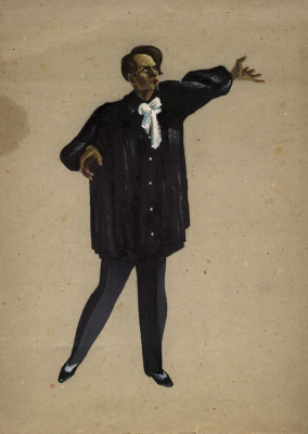Vladimir Vasilyevich Popov. Sketch of theatrical costume