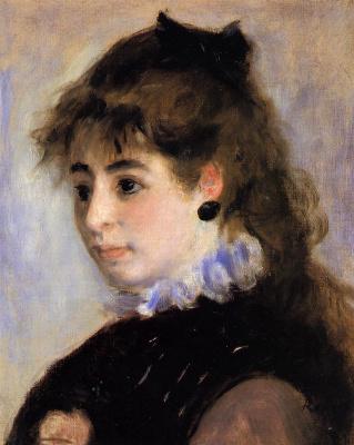 Pierre-Auguste Renoir. Portrait of Madame Anrio