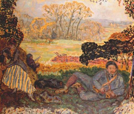 Pierre Bonnard. Hunter
