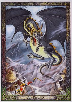 Билл Уортингтон. Воздушный дракон