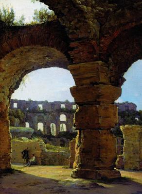 Никанор Григорьевич Чернецов. Колизей. 1840