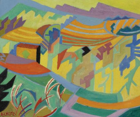 Андре Лот. Пейзаж. 1940