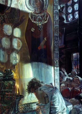 Ivan Glazunov. Cloud