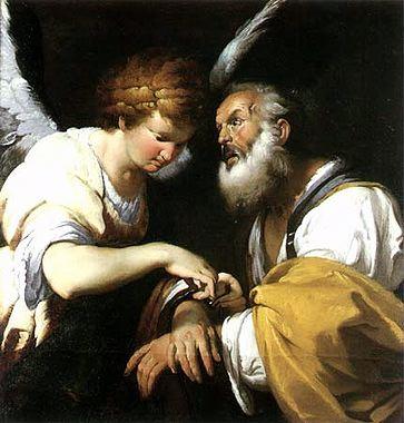 Бернардо Строцци. Освобождение Святого Петра