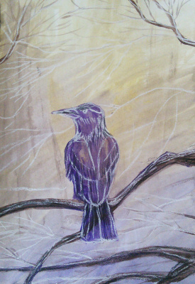 Marina Bocharova. Purple Raven