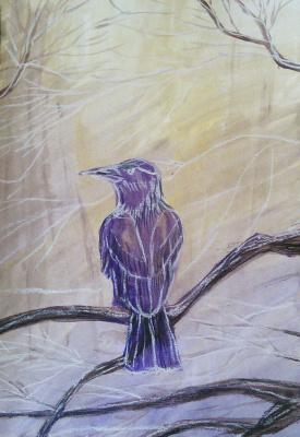 Marina Bocharova. Purple Raven