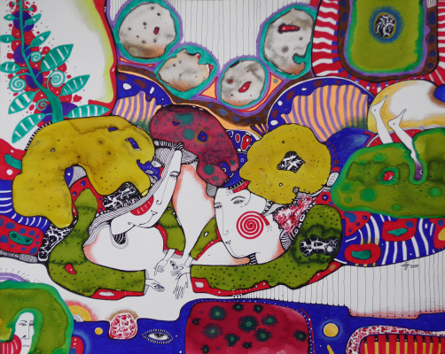 Natalia Pastushenko. Imagination