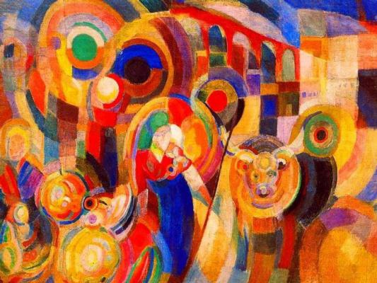 Соня Делоне. Рынок в Миньо