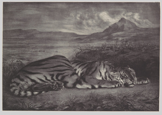 Эжен Делакруа. Королевский тигр