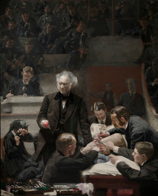 Thomas Eakins. THE GROSS CLINIC