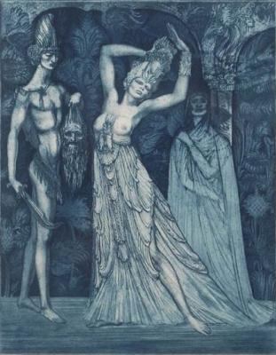 Ernst Fuchs. Salome
