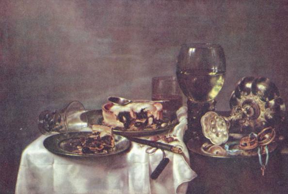 Виллем Клас Хеда. Стол с завтраком