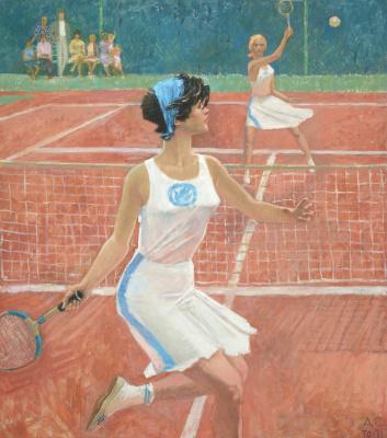 Alexander Nikolaevich Samokhvalov. Tennis