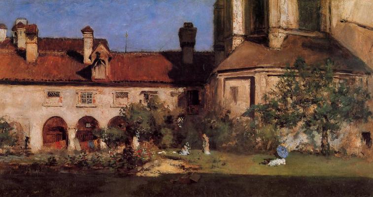 William Merritt Chase. Monasteries