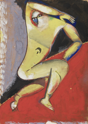 Marc Chagall. Nude