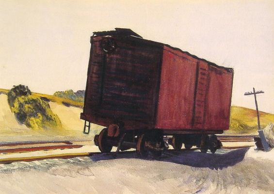 Edward Hopper. Trucks