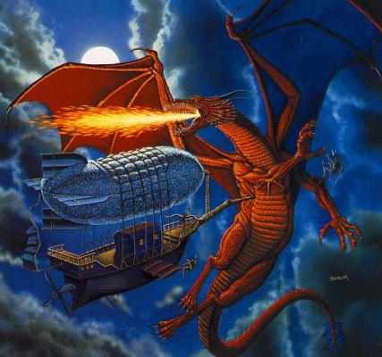 Фред Филдс. Огнедышащий дракон