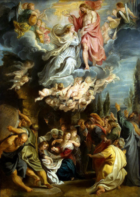 Peter Paul Rubens. The Coronation Of The Madonna