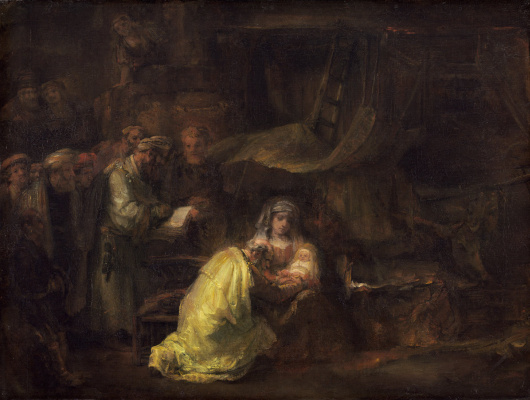 Rembrandt Harmenszoon van Rijn. The Circumcision Of Christ