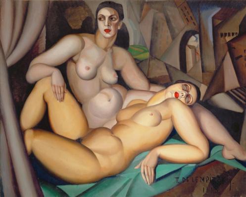 Тамара Лемпицка. Перспектива. 1923