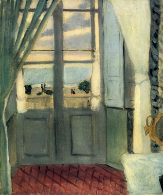 Henri Matisse. The balcony door