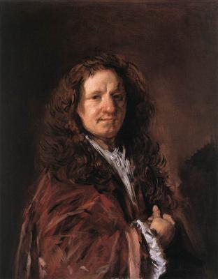 France Hals. Portrait of a man