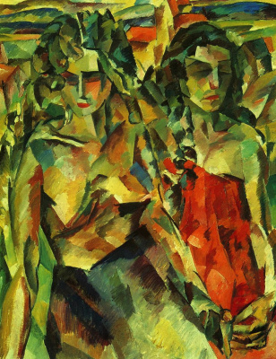 Aristarkh Vasilyevich Lentulov. Two women