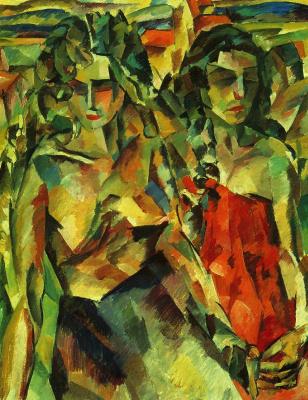 Aristarkh Vasilyevich Lentulov. Two women