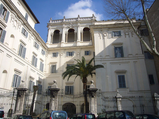 Francesco Borromini. Palazzo Falconieri (View from the Tiber)