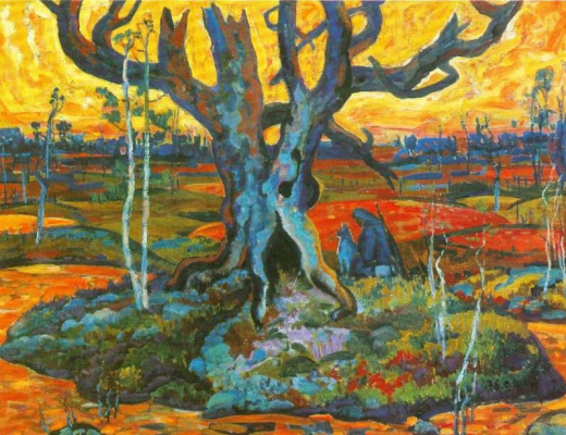 Остап Павлович Шруб. Holy tree