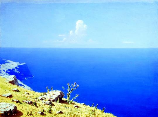 Arkhip Ivanovich Kuindzhi. Sea. Crimea