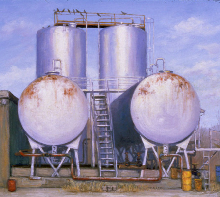 Валерий Ларко. Нефтяные резервуары