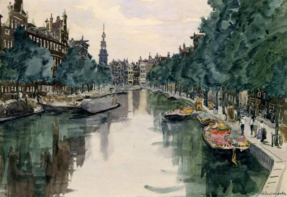 Anna Petrovna Ostroumova-Lebedeva. Amsterdam 1913