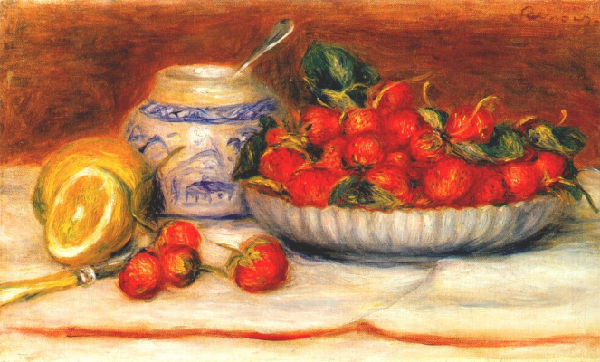 Pierre-Auguste Renoir. Strawberry